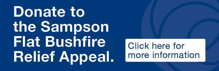 Donate to the Sampson Flat Bushfire Appeal