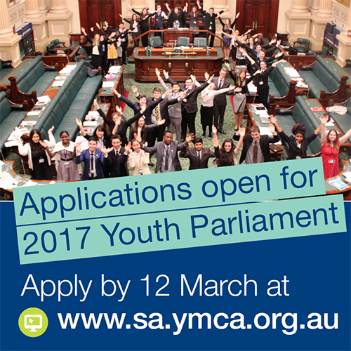 Young People apply for Youth Parliament