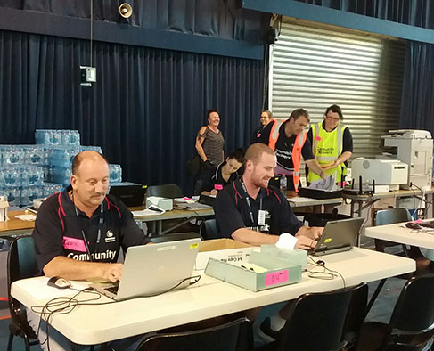 Queensland flood, SA relief assistance