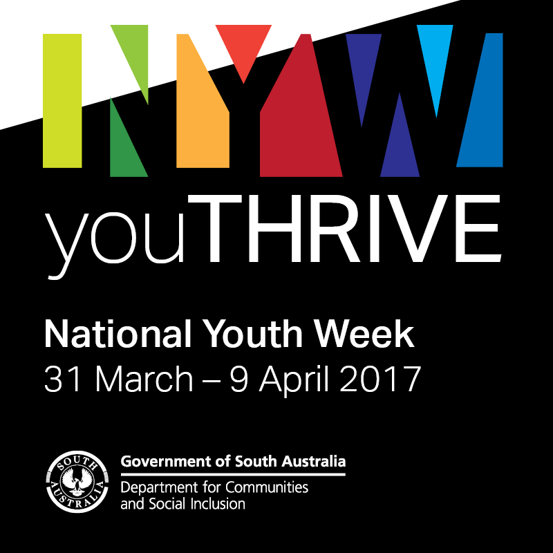 National Youth Week 31 March - 9 April 2017